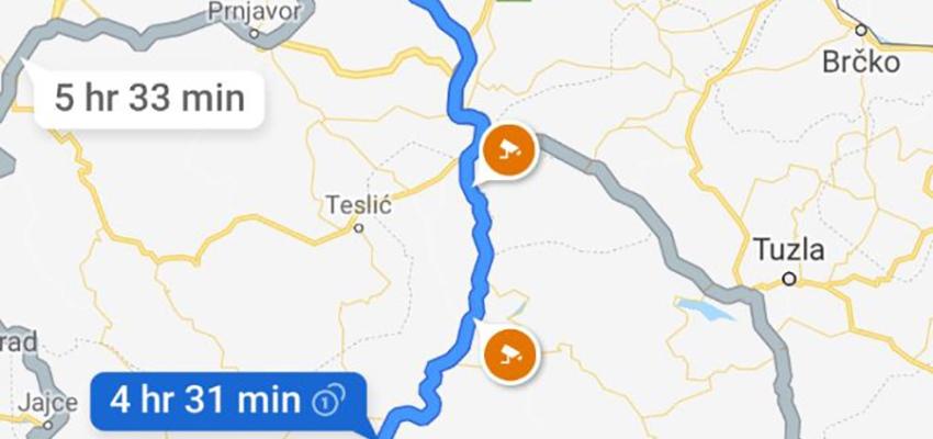 Gugl Mape Od Sada Prikazuju Lokacije Radara I U Bih Trebevic Net